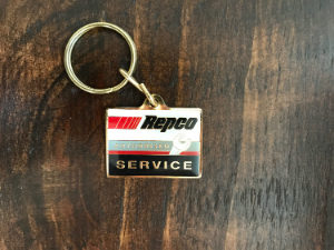 REPCO SERVICE CENTRES KEYRINGS