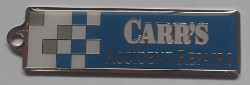 Carrs Accident Repairs Key Ring