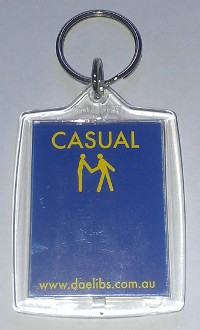 Casual Key Tag