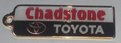 Chadston Toyota Keyring