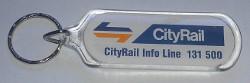 City Rail Keytag