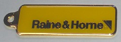 Raine and Horne Keyring Front