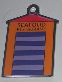 Safood Restaurant Keyring Front