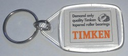 Timken Key Tag