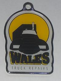 Wales Truck Repairs Key Ring
