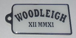 Woodleigh School Keyring Front